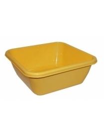 (17000) М2579 Таз квадратный 17л Жёлтый (10)