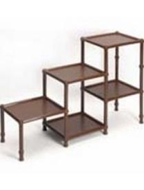 (04924) М2722 Полка универсальная (5 секций) коричневая