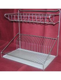 (25124) Сушилка для посуды универсальная хром АМ 01С (2)