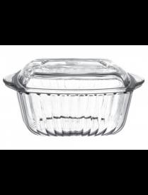 (02031) 59029 Посуда д/СВЧ квад. с крыш. 232*190мм (4)