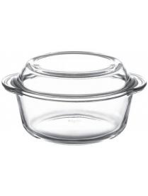 (09381) 59023 Посуда д/СВЧ круглая 1,5л с крышкой (4)
