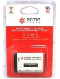 AcmePower IA-BH130 для Samsung HMX-C14/ C20/ C24/ K40/ K44/ K45/U20