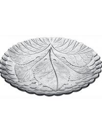 Набор тарелок из закаленного стекла SULTANA 6 шт. d=210 мм 10285B