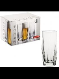 (09402) 42867 БОР Дэнс набор 6 стаканов для пива 420мл