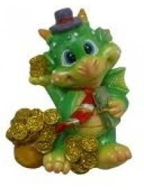(36514) 14983 MY83758/432 Магнит дракон 6,25см Чтоб на Вас напали деньги