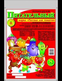 """(37993) Грунт """"Питательный"""" Рассада для томатов 8л"""