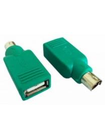 Адаптер PS/2 порт - USB устройство USB А socket/MD6m