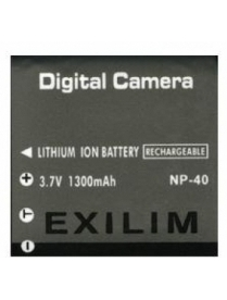 AcmePower CNP-40 (3.7V, min 1000mAh, Li-ion) для CASIO Exilim EX-FC100/ FC150/ P505/ P60