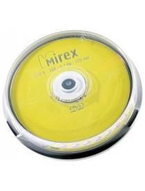 Диск DVD-R 4.7Gb 16x cake10 Mirex /3761900/