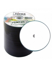 Диск DVD-R 4.7Gb 16x Print bulk 1шт. Mirex /3760911/