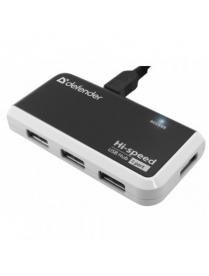 Defender USB QUADRO INFIX USB2.0, разветвитель 4порта 83504