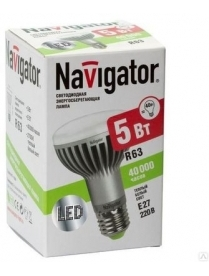 Navigator 94 137 NLL-R63-5-230-4,2K-E27 светодиодная