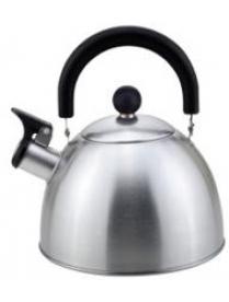 310096/310097 Чайник из нерж. стали MAL-039-МР, 2,5л матовый со свисткомсм (41328)