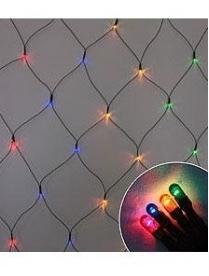 """Гирлянда """"Сетка"""" LED/Net-160-W, 160 белых LED ламп, 2*1 м, провод 5 м"""