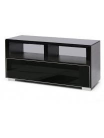 стол PL-22110 черный+черное стекло