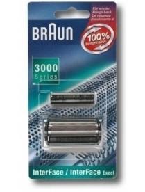 Braun СЕТКА И РЕЖУЩИЙ БЛОК INTERFACE 628 /3000 Series