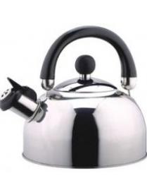 900055 Чайник металлический DJA-3023 (3,0 литра,со свистком,капсульное дно) (44080)