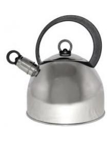 900056 Чайник металлический DJA-3026 2,2 литра,со свистком,капсульное дно (44081)