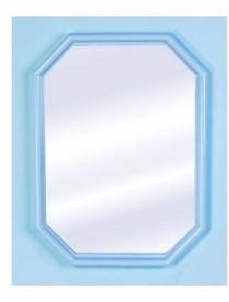 "(30986) Зеркало ""Октавия"" (роз. мрамор) А0202 (5)"