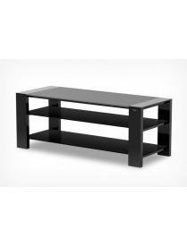 стол TV-27120 черный матовый+черное ст.