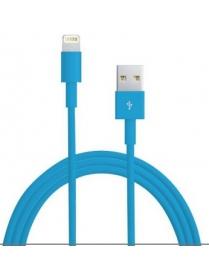 Кабель USB для IPhone 5/6/6Plus (Орбита BS-426 цветной) 1м.