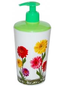Дозатор для мыла Цветы 704z
