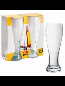 (22954) 42756 БОР Набор бокалов д/пива Паб 2шт.500мл (12)