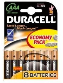 286 DURACELL Basic LR03 12BL (2*6/120)