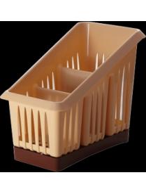 (046633) GR1564СЛ Сушилка для столовых приборов 3х-секционная Bono