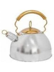 910070 Чайник из нержавеющей стали DJB-3427 2.5 л(капсульное дно, свисток) (46397)