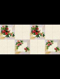 (47705) Клеёнка столовая 1,36-1,40*25м ПВХ 710/1 Колорит