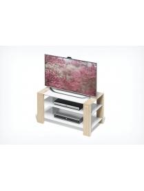 стол TV-2783-v светлое дерево+белое ст.