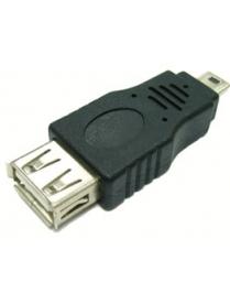 USB Переходник Орбита-1012 (штекер mini USB-гнездо USB)