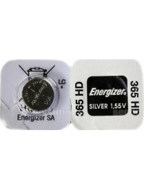 365-366 LD ENERGIZER Silver Oxide