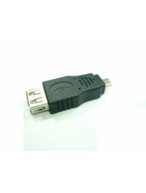 USB переходник Орбита-1014 (штекер micro USB-гнездо USB)