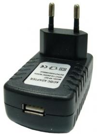 Адаптер питания с USB выходом BS-2005 (2000mA,5V)