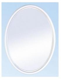 "(30949) Зеркало ""Соната"" (снежно-белый) А0101 (5)"