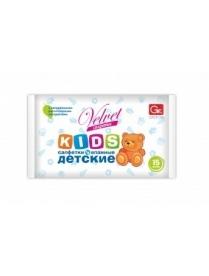 (49282) Салфетки влажные Grifon Velvet детские 15шт в упаковке (55) 350-012