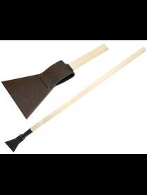 Ледоруб с топором Б-2 (сварной) с деревянным черенком