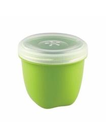 Банка с завинчивающейся крышкой Eco Style 0,26л (зелёный) С11761