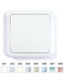 (03025) Выключатель Gusi C1В1-002/10А250V 1кл. (серый)