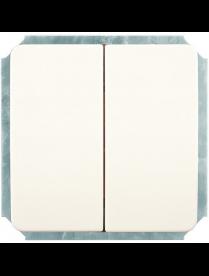 (03039) Выключатель Gusi C1В2-001/10А250V 2кл.(белый)