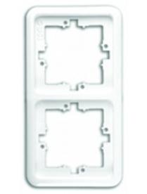 (06211) Рамка Gusi C120-002 двухместная серая