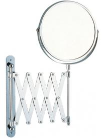 310452 Зеркало косметическое M-1612 одностор (Х5) настенное (диам - 17, хром/стекло)