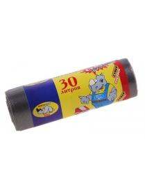 (40432) Мешки д/мусора 30л. 20шт. особо прочные (50)