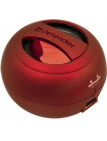 КОЛОНКИ АКТИВНЫЕ DEFENDER Soundway Red 65559