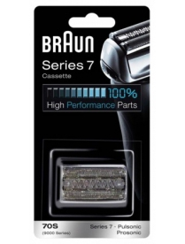 Braun 70S Бритвенная кассета 7 серии silver к моделям бритв Pulsonic
