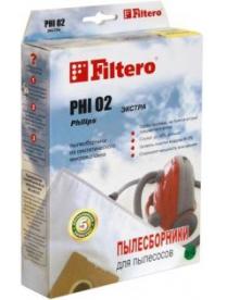 Пылесборник Filtero PHI 02 Standard/ЭКСТРА