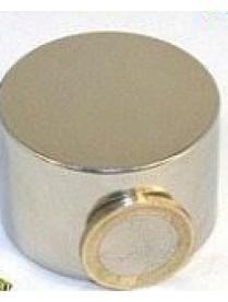 Неодимовый магнит диск диаметр 44мм х 29мм 90кг