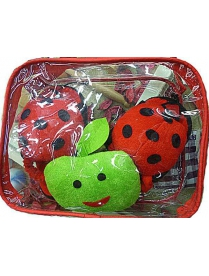 Банный набор в сумочке Детский 3предм. цвет mix 006VAN